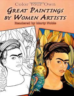 Help her appreciate the master painters with this coloring book of great paintings by women, $4.66 | 26 Amazing Gifts To Empower Little Girls