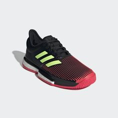 promo code 38bbe 20d0b SoleCourt Boost Shoes Black 10 Womens. Boost Shoes, Black 7, Adidas ...