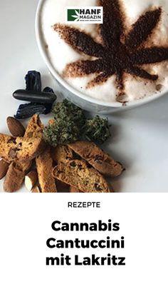 """Dieses Rezept der Cannabis Cantuccini habe ich für die Sorte """"Pusher Street N°1 / Automatic"""" aus dem dänischen Hause """"Christiania"""" entwickelt. Der wunderbar würzige und zugleich fruchtig-waldige Geschmack eignet sich hervorragend in Kombination mit Lakritz/Süßholz. Cannabis, Hemp, Fast Recipes, Food Items, Essen, Ganja"""