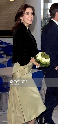 May 10, 2005--Crown Prince Frederik & Crown Princess Mary Of Denmark Attend A Concert At The Aarhus Music House To Celebrate The 75Th Anniversary Of The Aarhus Student Singers.