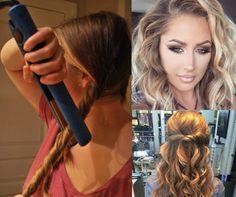 Najprostszy sposób na fale jaki widziałaś! Trik, który ułatwi Ci układanie włosów!