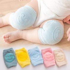 Kids Non Slip Crawling Elbow Infants Toddlers Baby Accessories Smile Knee Pads Protector Safety Kneepad Leg Warmer Girls Boys Baby Necessities, Baby Essentials, Baby Life Hacks, Do It Yourself Baby, Crawling Baby, Baby Supplies, Baby Safety, Kids Safety, Everything Baby