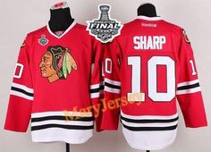 Only $34.88 please email me at maryjerseyelway@gmail.com for Blackhawks 10 Patrick Sharp Red 2015 Stanley Cup Stitched NHL Jersey