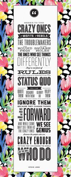Very true and so inspiring!