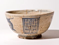 Old Japanese Kyoto-Yaki Tea Bowl with Gold Repair (item #1216746, detailed views)