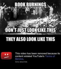 This is What Modern Book Burning Looks Like - Facts Not Memes Truth Hurts, It Hurts, Book Burning, Modern Books, Liberal Logic, Political Memes, Political Views, No Kidding, Conservative Politics