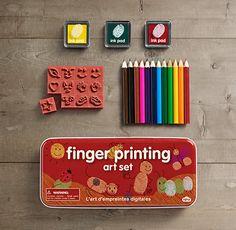 $10.99 - Restoration Hardware - Finger Printing Art Set for the kiddos on my list