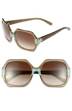 Hummm.....   Tory Burch 58mm Sunglasses (Online Only) available at #Nordstrom