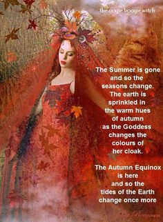 Mabon...autumn equinox - Pinned by The Mystic's Emporium on Etsy