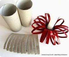 Resultado de imagen para adornos navideños 2014 manualidades de papel