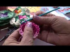 Parte 2: Tapete de Crochê by Vitória Quintal - YouTube