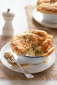 Get cooking with leeks using this comforting recipe for chicken, mushroom and leek pies