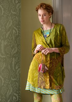 """""""Klematis"""" viscose jersey tunic – Spring's best tunics! – GUDRUN SJÖDÉN – Webshop, mail order and boutiques 