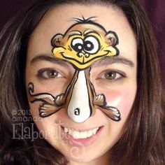 """Some facepainting ideas that aren't """"girly""""!"""