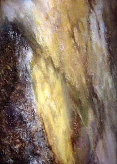 Georgia Tree Trunk Abstract Original Acrylic on by RosieBrown11, $195.00