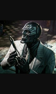 Black Mask in Batman: Arkham Origins