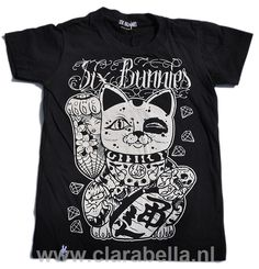 Awesome #kids #tees from #Six #Bunnies!  #Cool #T-shirts for the future #generation of #young #punks. Get it Now!