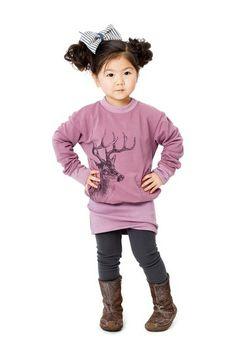Joah Love Tina Doe Tunic Dress (Toddler & Little Girls) by Non Specific on @HauteLook