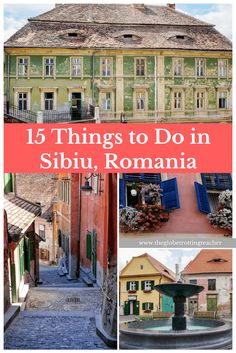 15 Splendid Things to Do in Sibiu, Romania- A medieval gem in the heart of Transylvania! Plan a trip to Romania and Sibiu and rediscover the Europe of long ago. #travel #romania #sibiu #transylvania