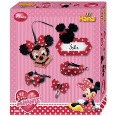 Disney Minnie Mouse Accessories Gift Set 7955 Hama Beads Disney Collection