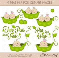 Baby Pea Pod Free Clipart