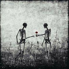 You should've seen the look on your skull. Skeleton Love, Skeleton Art, Skeleton Drawings, Creepy, Comic, Deviantart, Skull And Bones, Gothic Art, Memento Mori
