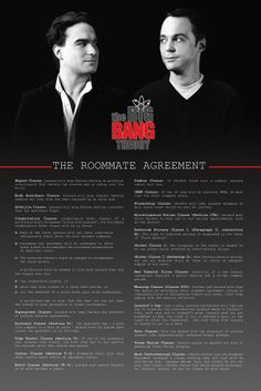 Roommate Agreement Poster by CoolTVProps on Etsy