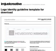 An incredibly helpful source of inspiration for creating brand guidelines. Business Design, Creative Business, Small Business Resources, Typographic Design, Brand Guidelines, Creating A Brand, Gourd, Brand Identity, Style Guides