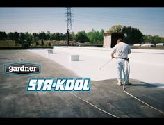 Roofing Supplies, Roof Coating, Cool Roof, Beat The Heat, Facebook, Youtube, Youtubers, Youtube Movies
