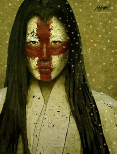 Yuki Onna by Charlie Terrell, via Behance