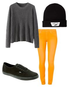 Untitled #201 by abbylexus on Polyvore featuring polyvore, fashion, style, 7 For All Mankind, Vans, women's clothing, women's fashion, women, female, woman, misses and juniors