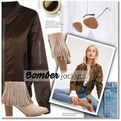 Bomber Jacket by svijetlana on Polyvore featuring Free People, Vetements, bomberjacket and twinkledeals