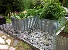 Raised Beds Metal Culvert Pipe Is A Great Alternative To 400 x 300