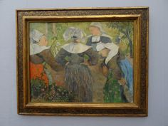 'Four Breton Women' (1886) - by Paul Gauguin,