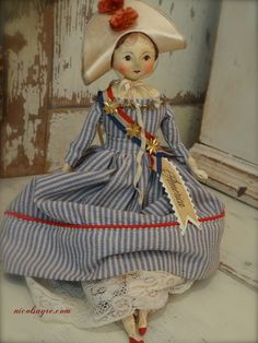 Join the Parade right here on Wed June 28 the dolls for sale will be listed at PDT Americana Crafts, Patriotic Crafts, Patriotic Decorations, July Crafts, Fabric Dolls, Paper Dolls, Art Dolls, Fourth Of July Decor, July 4th
