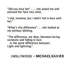 Being in love versus loving someone