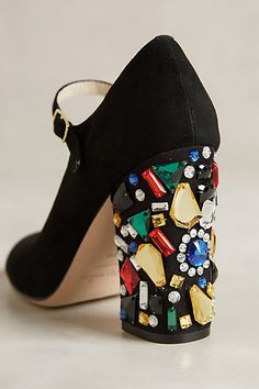 Bettye Muller Brilliant Heels - anthropologie.com  #anthrofave