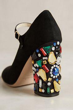 Bettye Muller Brilliant Heels - anthropologie.com  #anthrofave