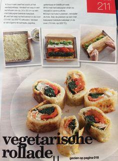 Vegetarische rollade