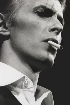 Musician, actor, record producer and arranger David Bowie (b. 1947)