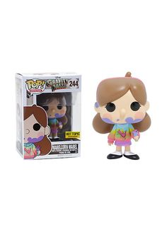 Funko Disney Gravity Falls Pop! Animation Mabelcorn Mabel Vinyl Figure Hot Topic Exclusive,