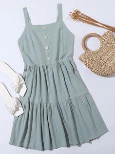 Cute Dresses, Cute Outfits, Summer Dresses, Trendy Fashion, Fashion Outfits, Womens Fashion, Hawaii Outfits, Dress P, Street Style Women