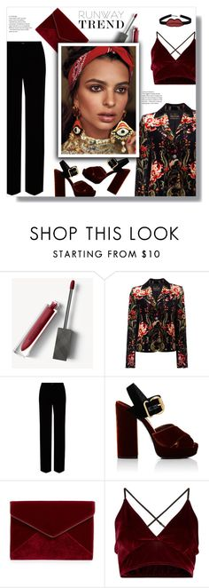 """velvet"" by valentino-lover ❤ liked on Polyvore featuring Burberry, Roberto Cavalli, Prada, Rebecca Minkoff and chuu"