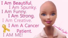 Get this campaign moving!! Bald Barbie to let Cancer patients know they are beautiful!!