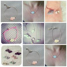 Assortiment ♡ Washer Necklace, Jewelry, Clouds, Jewerly, Jewlery, Schmuck, Jewels, Jewelery, Fine Jewelry