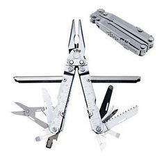 When it comes to multi-tools I have always been a little wary of anything except for my tried and true Leatherman, but upon the advice of a friend I decided to go ahead and pick up a couple other brands. So I picked out a few and will be doing reviews on them as I break them in. I am going to start off with the SOG PowerLock S60. I own a number of SOG knives so I feel like I know, at least the bare essentials, of what SOG typically offers in terms of quality. As with many of my SOG knives…