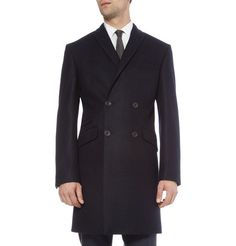Classic. Spencer Hart Double-Breasted Wool Coat.