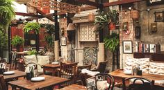 VERANDAH AT DISHOOM SHOREDITCH, LONDON The al fresco bars, cafes and restaurants perfect for spring | Stylist Magazine