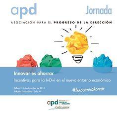 Un año más, y de la mano de los expertos de F. Iniciativas, la APD organiza el Ciclo de jornadas Innovar es Ahorrar. Un evento en el que se dan cita los más relevantes expertos del sector de la financiación de la I+D+i, tanto a nivel público como privado, para analizar la realidad, contexto y situaciones que se encuentran las empresas, y exponer las novedades en esta materia tanto a nivel fiscal como presupuestario.