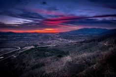 Late Winter Sunset - Highland, CA, USA